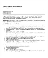 welder job description free word pdf documents download welder helper job description template description of a welder