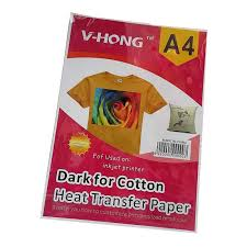 A4 size Dark color <b>cotton T shirt sublimation</b> clothes inkjet printer <b>V</b> ...