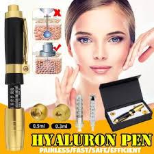 2 in 1 Hyaluron <b>Pen</b> Two Head <b>0.3ml</b> &0.5ml <b>Hyaluronic</b> Acid Lip ...
