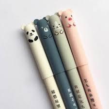 Online Shop <b>1pcs</b>/<b>lot Lovely</b> Piggy Panda Neutral Brush Gel Pen Ink ...