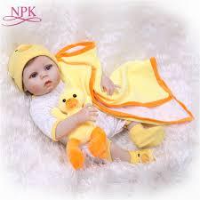 <b>NPK Handmade Full Silicone</b> Vinyl Adorable Lifelike toddler Baby ...