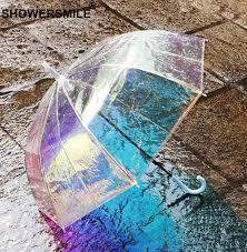<b>SHOWERSMILE Umbrella Umbrella</b> Change Color <b>Transparent</b> ...