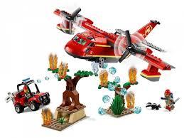 Купить <b>Конструктор Lego City</b> 60217 <b>Fire</b> Пожарный самолёт в ...