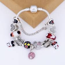 2019 <b>Fashion Boutique</b> Glass Beads <b>Cartoon</b> Pendant Bracelet For ...