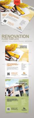 renovation flyer by floringheorghe graphicriver renovation flyer corporate flyers