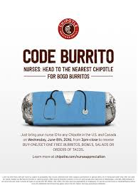 just what the doctor ordered chipotle celebrates nurses full size