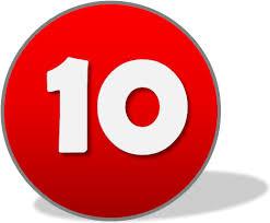 Resultat d'imatges de número 10