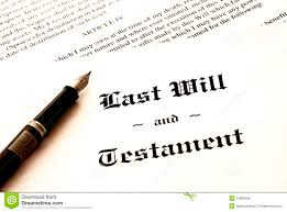 will and testament printable documents last will and testament