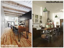 industrial kitchen style industrial chic decor furniture with wood flooring chic industrial furniture