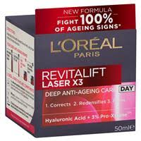 Buy <b>L'Oreal</b> Paris <b>Revitalift Laser X3</b> Day Cream 50ml Online at ...