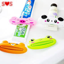 <b>HOT Bathroom Home Tube</b> Rolling Holder Squeezer Easy Cartoon ...