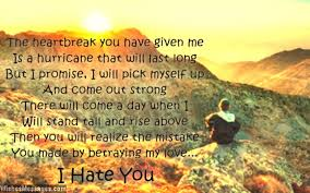 I Hate You Messages for Ex-Girlfriend: Hate You Quotes for Her ...