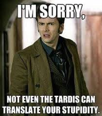 Doctor Who Meme on Pinterest | Donna Noble, Tenth Doctor and ... via Relatably.com