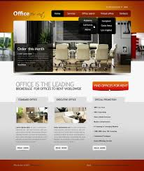 office website template
