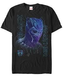 Купить <b>футболку</b> Мужская Черная Пантера Неоновая Линия Art ...