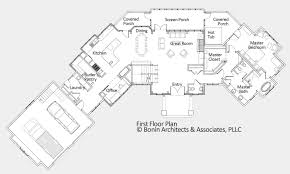 craftsman house plan first floor s house plans and more    luxury house floor plans trend