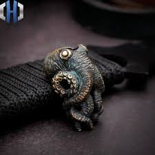 <b>Original</b> Bronze Old Dominator Octopus Cthulhu EDC Umbrella ...