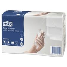 «<b>полотенца TORK Advanced сложение</b> ZZ 2-сл. 190шт. белые ...