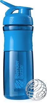 "<b>Шейкер спортивный BlenderBottle</b> ""<b>SportMixer</b>"", цвет: голубой ..."