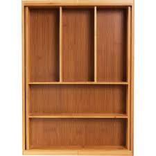 <b>Лоток для столовых</b> приборов раздвижной 33х6.5х46 см, бамбук ...