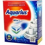 <b>Таблетки для</b> посудомоечной машины (<b>ПММ</b>) <b>Aquarius All</b> in 1, 30 ...