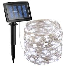 Amazon.com: AMIR <b>Solar Powered</b> String Lights <b>150 LED</b>, 2 Modes ...