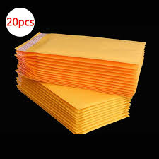 DELVTCH <b>20Pcs Mailing Bags Window</b> Envelopes Bag ...
