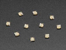 DotStar Micro LEDs (APA102–2020) - Smart <b>SMD RGB LED</b> - 10 ...