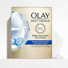 Olay Daily <b>Facial Cleansing Cloths</b> Tub Refill, 33 Count