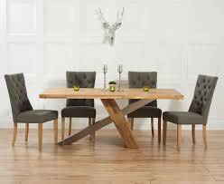 quality small dining table designs furniture dut: chateau cm solid oak and metal dining table with anais fabric chairs