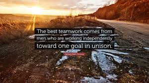 james cash penney quote the best teamwork comes from men who are james cash penney quote the best teamwork comes from men who are working independently
