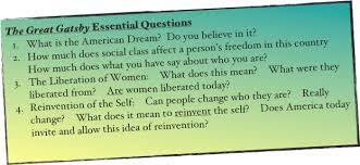 the american dream essaygatsby american dream essay the great gatsby visions of america quotes   shmoop  american dream
