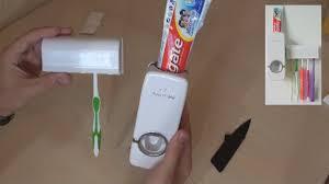 Дозатор для <b>зубной пасты</b> + держатель щёток. Красиво и ...