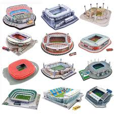 None <b>3D Three dimensional Puzzle</b> Football Soccer Field <b>Puzzle</b> ...