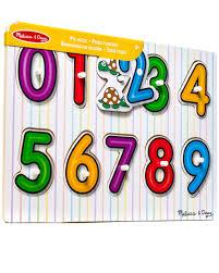 <b>Цифры</b>, Melissa Doug (<b>рамки</b>-<b>вкладыши</b>) — Магазин ...