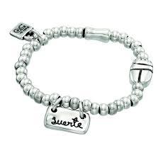 """Купить браслет <b>UNOde50</b> """"Rubber luck"""" PUL1286 с серебряным ..."""