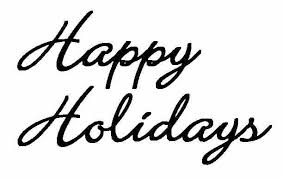 Image result for happy holidays sign