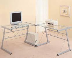 glass l shaped office desk. ikea l shaped desk glass office h