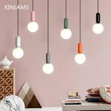 Designer <b>Nordic simple</b> Wood Pendant Lights <b>led</b> hang lamp ...