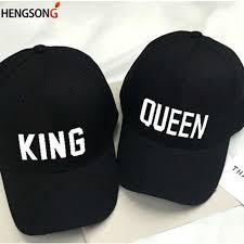 New 2018 <b>Hot Sale KING QUEEN</b> Caps Hip Hop Baseball Caps ...
