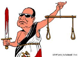 Image result for El-Sisi CARTOON