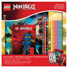 <b>Набор</b> канцелярских принадлежностей <b>Lego</b> Ninjago, 13 шт ...