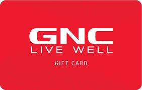 GNC e-Gift Card
