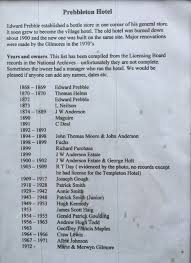 history prebbleton tavern publicans list shows the current owners marie and merwyn gilmore as the longest serving