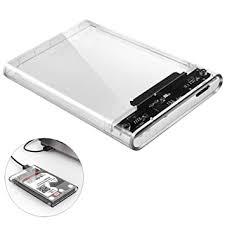 Enclosure <b>ORICO 2.5 inch</b> Transparent USB3.0 Hard Drive External ...