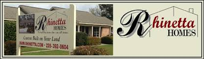 rhinetta homes we build the house that you call home an on your lot custom home builder on the mississippi gulf coast build home office header