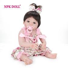<b>NPKDOLL 22 Inch</b> Doll Reborn Full Vinyl Babies Doll For Girls <b>55</b> ...