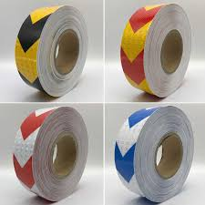 <b>50mmx30m Colors</b> Arrow Pattern Mesh Reflective Ribbon Car ...