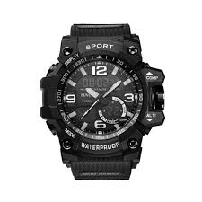 <b>PUVOS</b> Men's Waterproof Luminous Sports Electric Watch ...