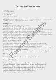 online teaching resume for teachers s teacher lewesmr sample resume teachers resume format online resumes sles